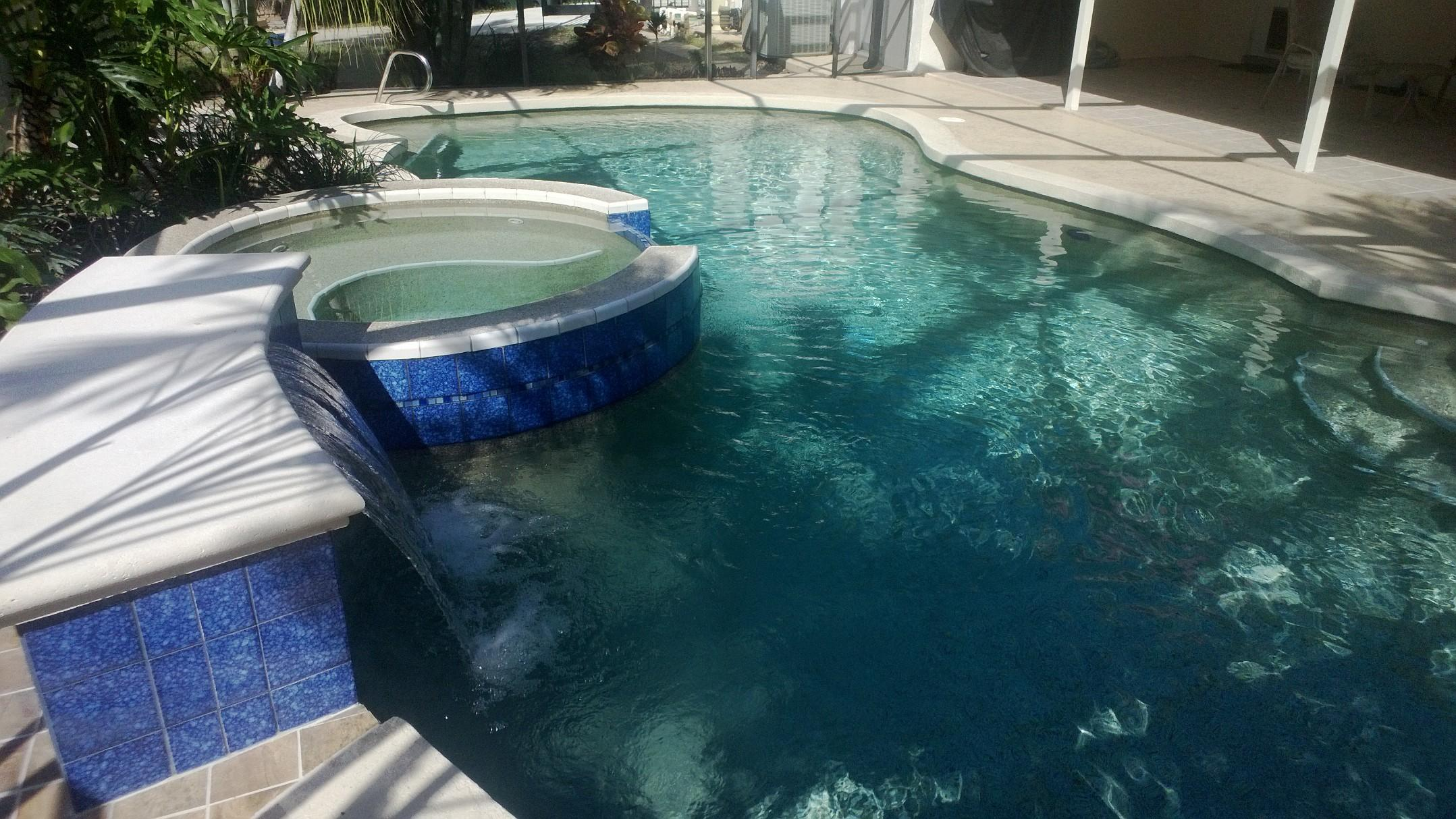 Custom Pool Renovations Palm Bay and Melbourne Florida