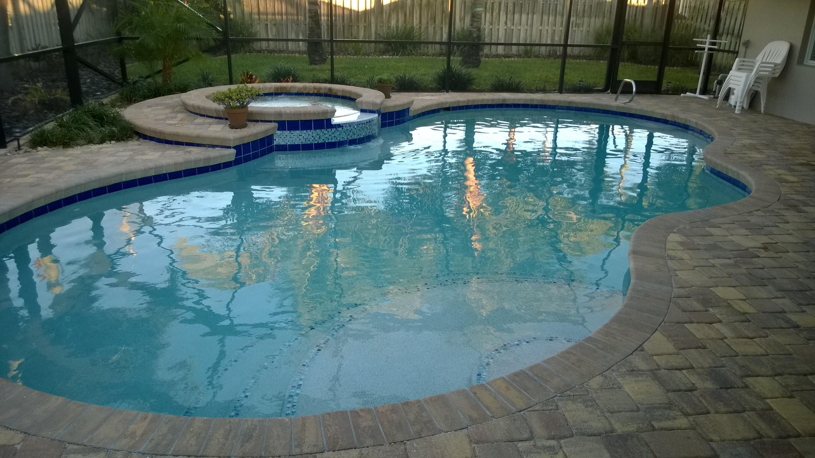 Custom pool renovations palm bay and melbourne florida for Pool renovations